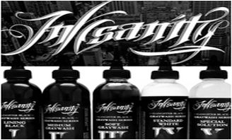 Inksanity Gangster Black Graywash