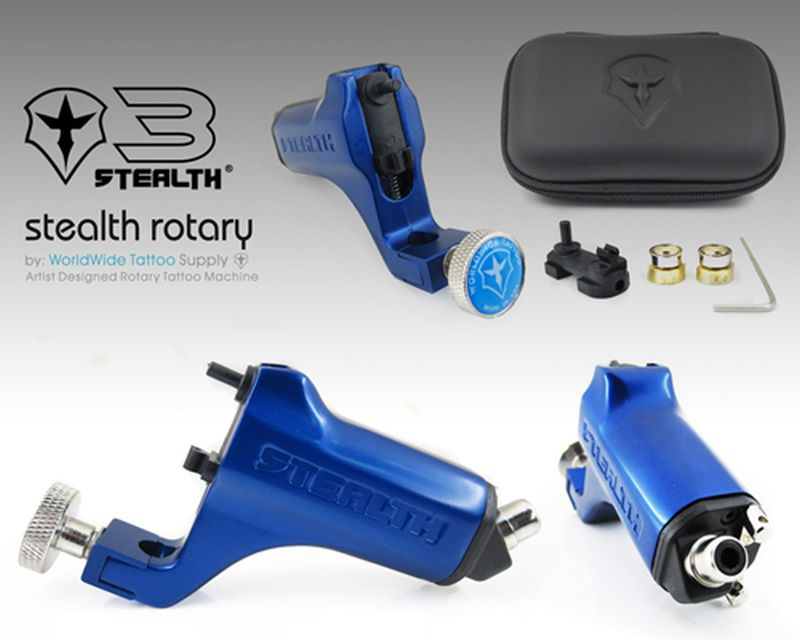Stealth 3 0 blue stealth 3 0 rotary rotary machines for Stealth tattoo machine