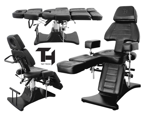 Tat Tech Hydraulic Tattoo Chair Pro Tattoo Chair Table Shop Equipment Furniture
