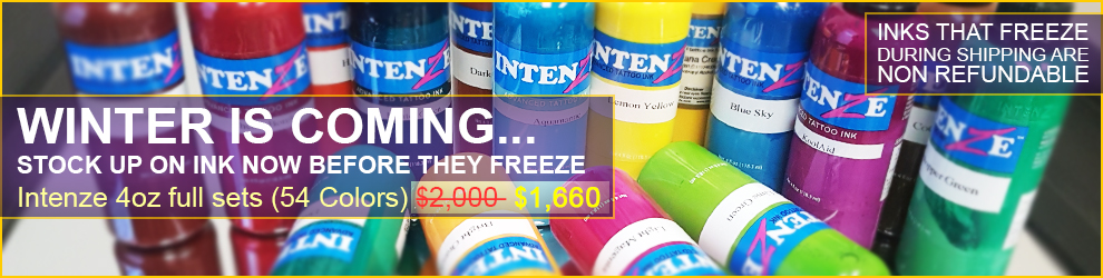 Intenze Ink Set Sale