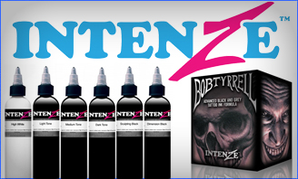 Intenze Ink Sets & Black Ink