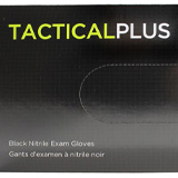 Tactical Black Nitrile Gloves
