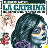 Day of the Dead Tattoo #2 Flash Book